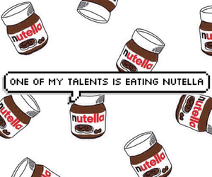 nutella and chocolate image