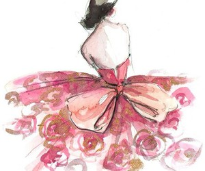 pink, art, and beauty image