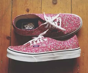 vans, beautiful, and shoes image