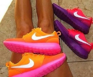 brown, orange, and pink image