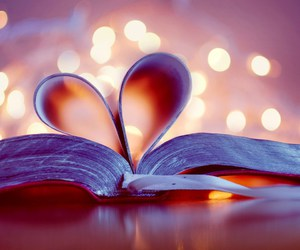 beautiful, book, and heart image