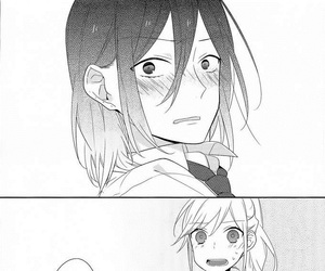 manga and horimiya image