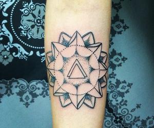 arm tattoo, blackwork, and ink addict image