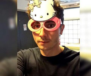 always, handsome, and hello kitty image