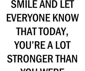 strong, quotes, and smile image