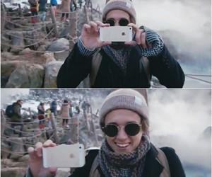 camera, smile, and brad simpson image