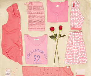 pink, outfits, and summer image
