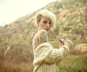 girl, tattoo, and alysha nett image