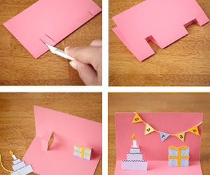 diy, card, and birthday image