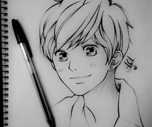 ao haru ride, anime, and drawing image
