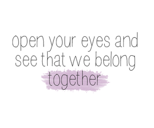 love, eyes, and open image