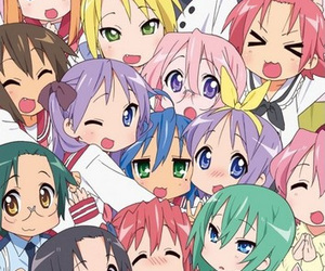 anime and lucky star image