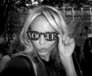 vogue, blonde, and fashion image