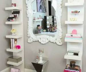 mirror, room, and decor image
