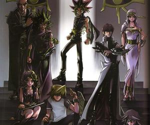 anime, yugioh, and bakura image