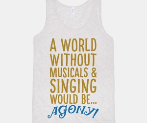 agony, musicals, and theatre image