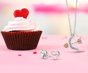 fashion, valentines day, and bling jewelry image