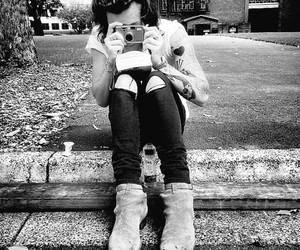 b&w and harrystyles image