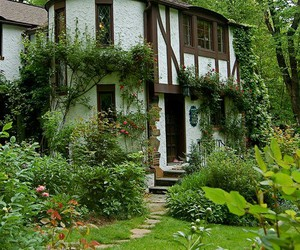 home, nature, and garden image
