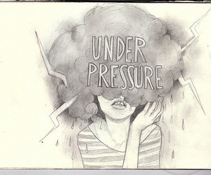 drawing, under pressure, and art image