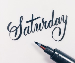 saturday and weekend image