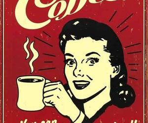 coffee, sleep, and vintage image