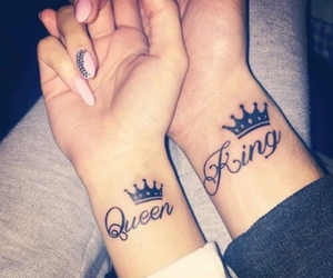 Queen, king, and love image
