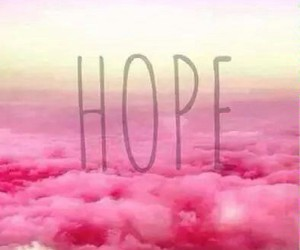 hope and pink image
