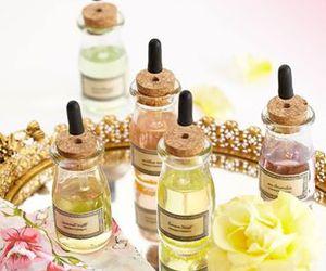 coco chanel bridal shower and favor bottles image