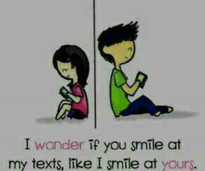 love, text, and smile image
