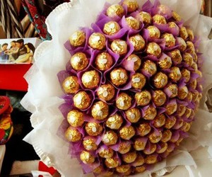 chocolate, bouquet, and gift image