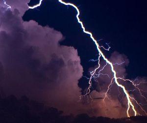 sky, storm, and lightning image