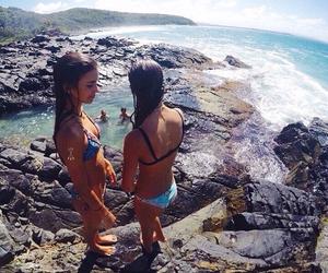 beach and bikini image
