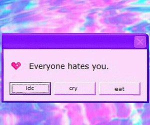 hate, lol, and i dont care image