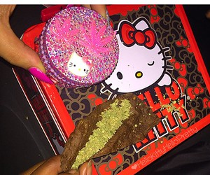 blunt, hello kitty, and HelloKitty image