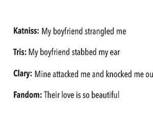 the hunger games, clary fray, and divergent image