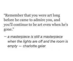 quote, art, and masterpiece image