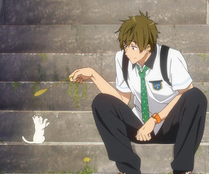 anime, free!, and makoto image