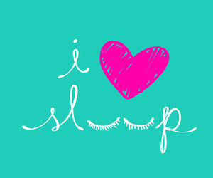 sleep, cute, and love image