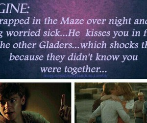 newt, the maze runner, and imagines image