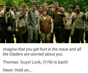 the maze runner, imagines, and tmr image