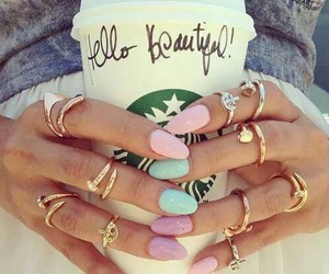 bling, coffee, and fashion image
