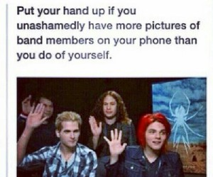 band, my chemical romance, and funny image