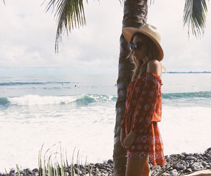 beach, bohemian, and style image