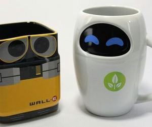 mug, wall-e, and eve image