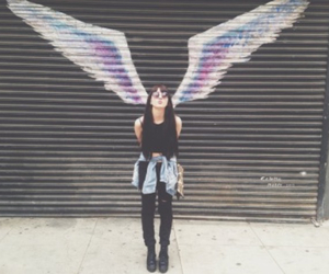 faded, girl, and grunge image