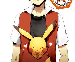 anime, pikachu, and pokemon image