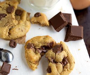 chocolate, Cookies, and sweet image