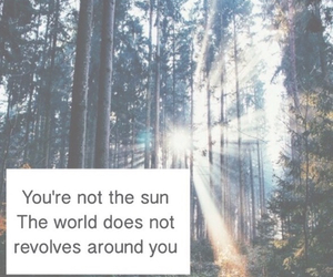 quotes, sun, and world image