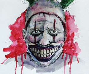 clown, freak, and ahs image